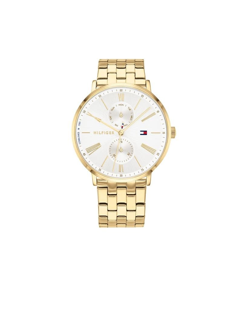 Tommy Hilfiger Tommy Hilfiger TH1782069 Horloge dames Jenna staal Double