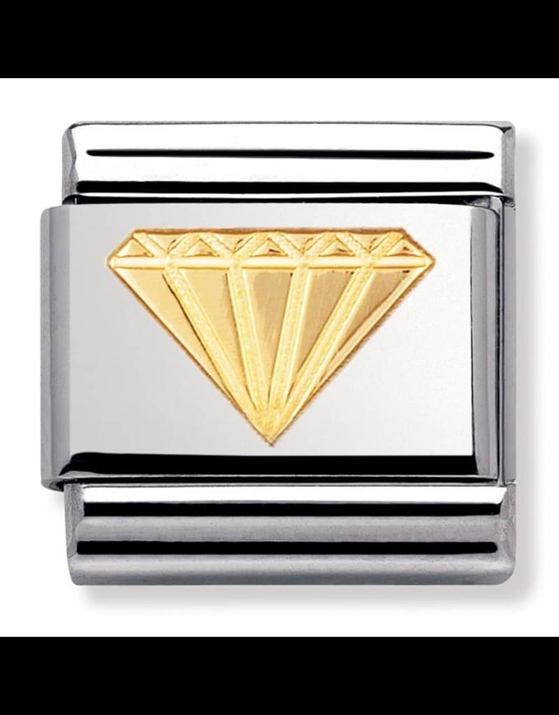 Nomination Composable 030115-03 Nomination Classic goud afbeelding diamant