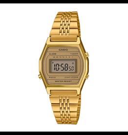 Casio Casio LA690WEGA-9EF Horloge dames Retro Digitaal Gold