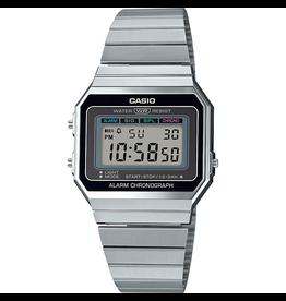Casio Casio A700WE-1AEF Horloge Retro digitaal staal
