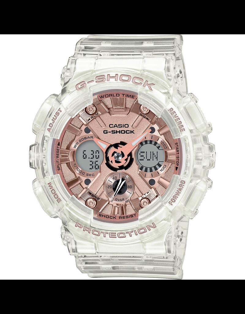Casio G-Shock GMA-S120SR-7AER Horloge dames rose transparant