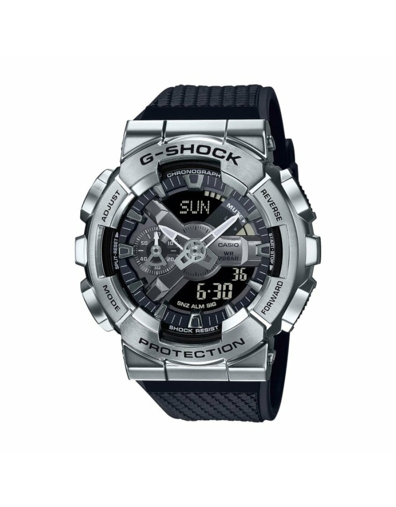 Casio G-Shock GM-110-1AER Horloge heren ana/digi Staal