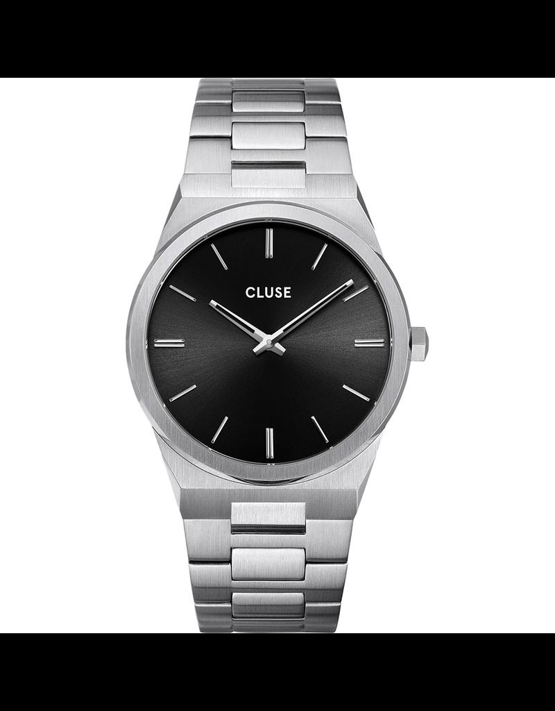 Cluse Cluse CW0101503004 horloge Vigoreux  Staal zwart