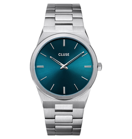 Cluse Cluse CW0101503003 horloge Vigoreux  Staal blauw