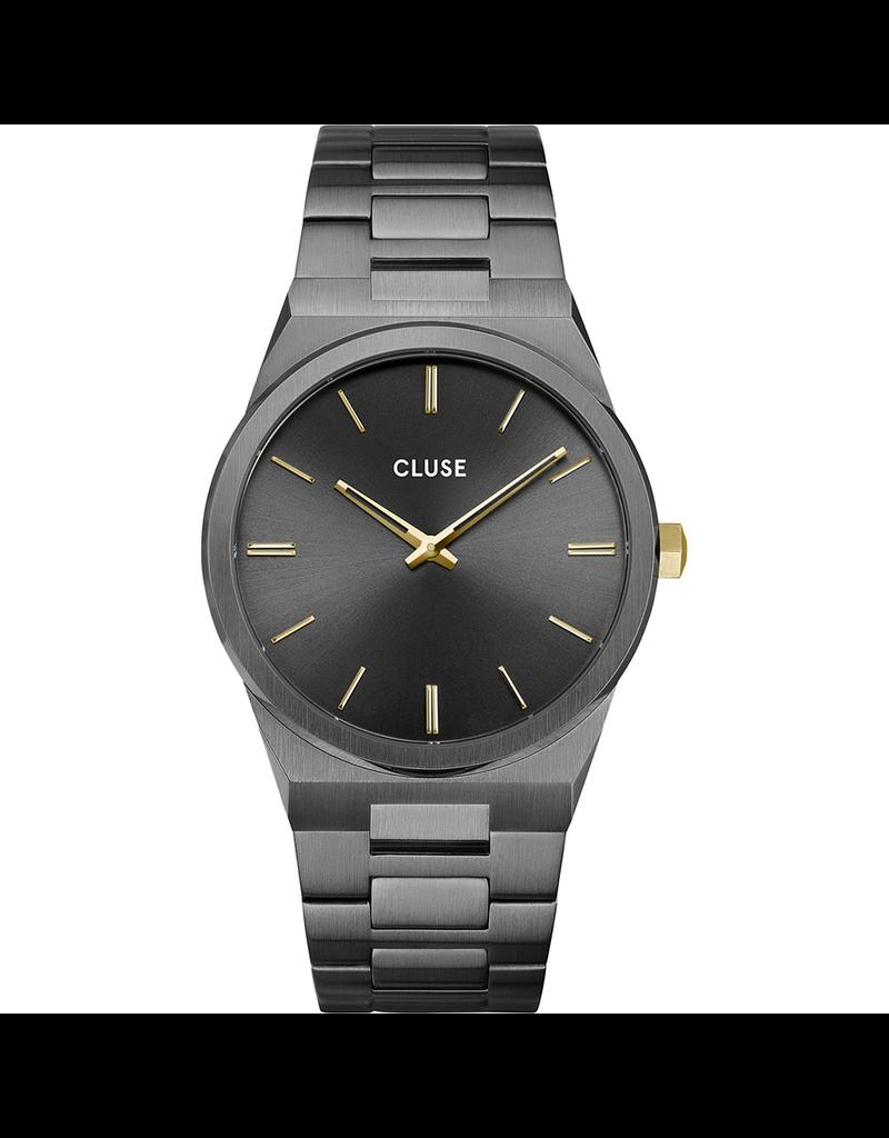 Cluse Cluse CW0101503006 Horloge Vigoreux Dark Grey/Gold