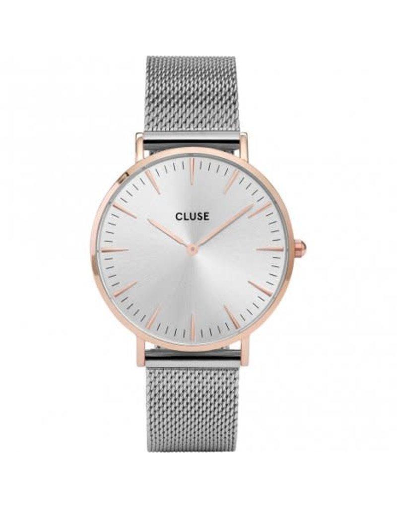 Cluse Cluse CW0101201006 Horloge Boho Chic Mesh, Rose Gold