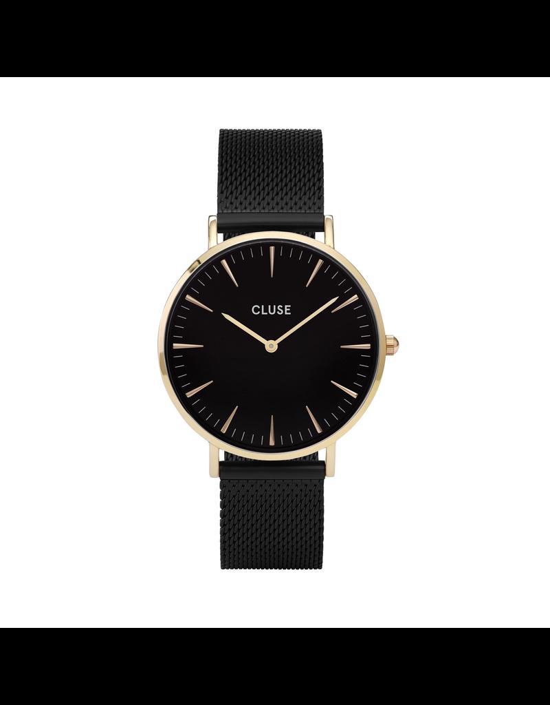 Cluse Cluse CW0101201008 Horloge Boho Chic Mesh Gold/Black