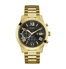 Guess Guess W0668G8 Horloge Heren staal Gold