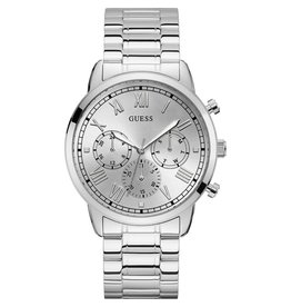 Guess Guess GW0066G1 Horloge heren staal zilvergrijs