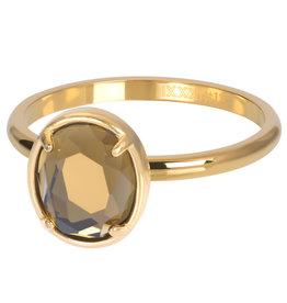 iXXXi Ring R05702-01 17 Glam Oval Topaz
