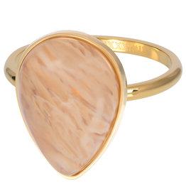 iXXXi Ring R05703-01 17 Royal Stone Drop Topaz