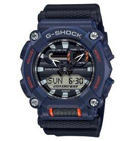 Casio G-Shock GA-900-2AER Horloge Ana/Digi  blauw/oranje