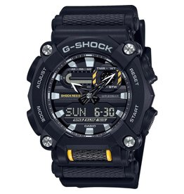 Casio G-Shock GA-900-1AER Horloge ana/Digi zwart/geel