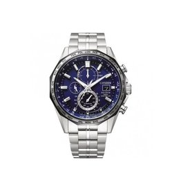 Citizen AT8218-81L heren horloge Titanium radio controlled staal /blauw