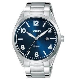 Lorus RH965MX-9 horloge heren staal blauw