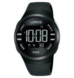 Lorus R2333NX9 horloge digitaal zwart