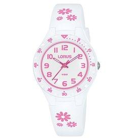 Lorus RRX59GX-9 kinder horloge wit rose