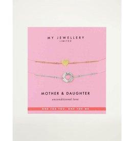My Jewellery Mother&Daughter Armband Multi kleur
