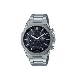 Edifice EFS-s570d-1AUEF heren horloge Staal zwart Solar
