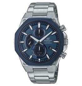 Edifice EFS-s570db-2AUEF heren horloge Staal blauw Solar