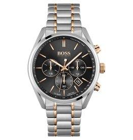 Hugo Boss Hugo Boss HB1513819  horloge heren Champion staal/rosé