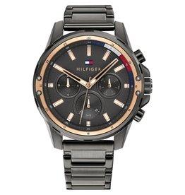 Tommy Hilfiger TH1791790 horloge heren Mason staal grijs