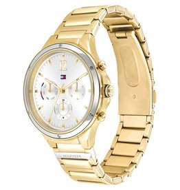Tommy Hilfiger TH1782278 horloge dames Eve staal/goud