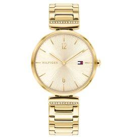 Tommy Hilfiger TH1782272 horloge dames Aria staal goud