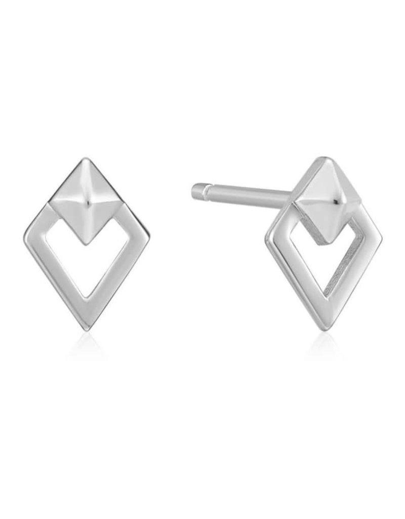 ANIA HAIE JEWELRY AH E025-08H Oorbellen Silver spike diamond