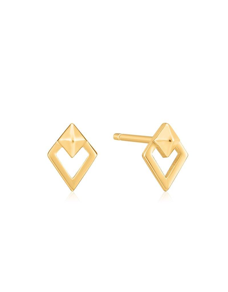ANIA HAIE JEWELRY AH E025-08G Oorbellen Gold spike diamond
