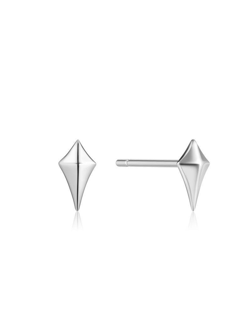 ANIA HAIE JEWELRY AH E023-23H Oorbellen Diamnond shape stud silver