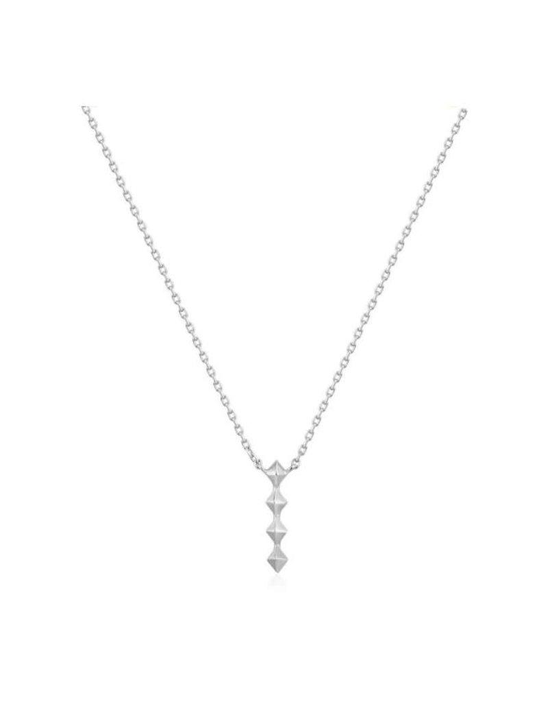 ANIA HAIE JEWELRY AH N025-01H ketting silver spike drop
