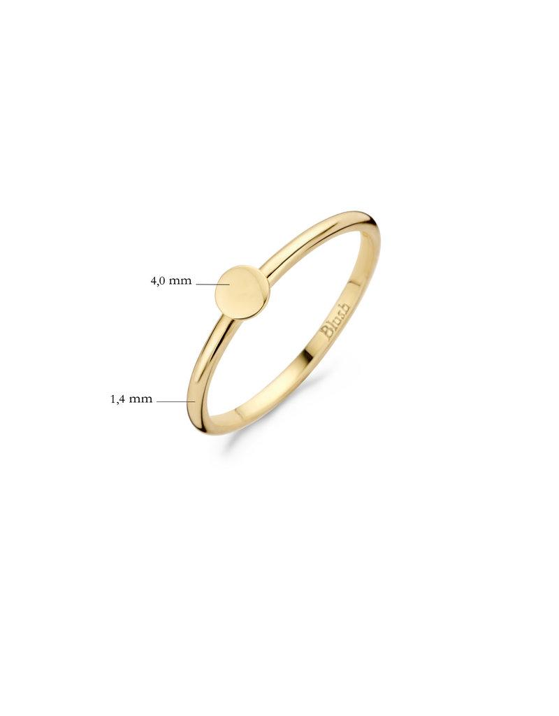 Blush Blush 1212YGO/52 Ring 14 Krt Goud Mt 52