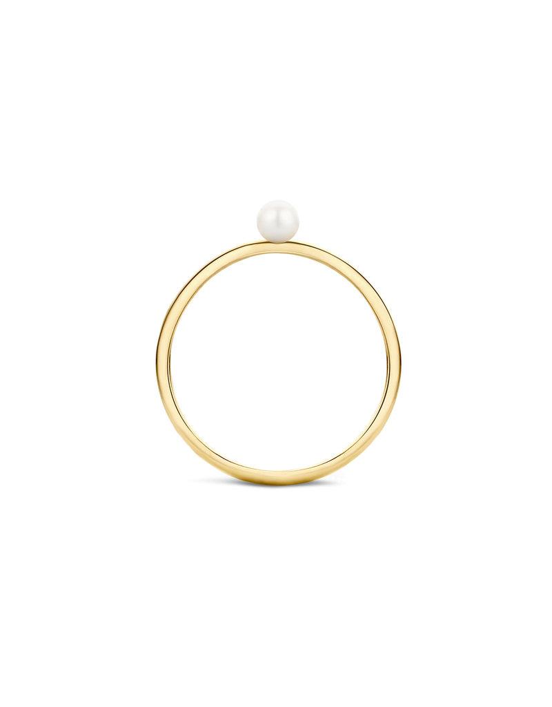 Blush 1213YPW/52 Ring 14 krt Goud met parel