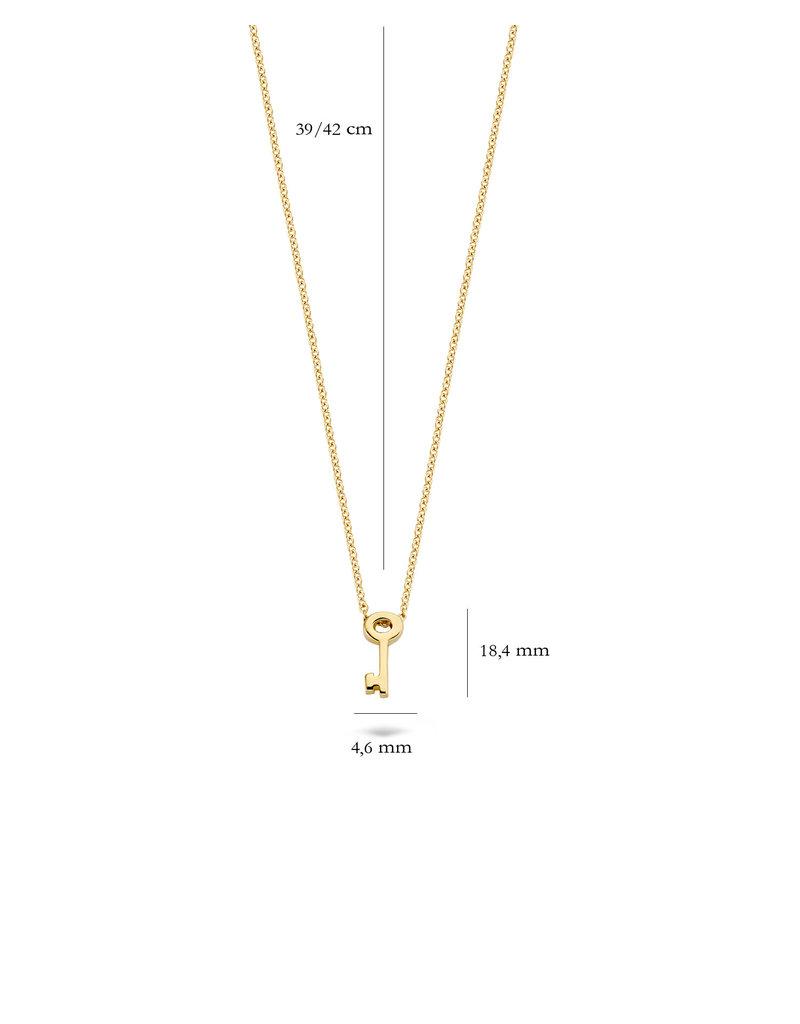 Blush 3092YGO Ketting met bedel 14 Krt goud