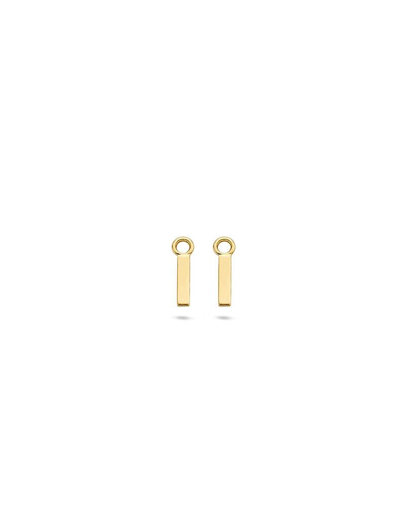 Blush 9056YGO Oorbedels 14 Krt goud
