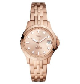 Fossil Fossil ES4748 Horloge Dames staal/ Rosé