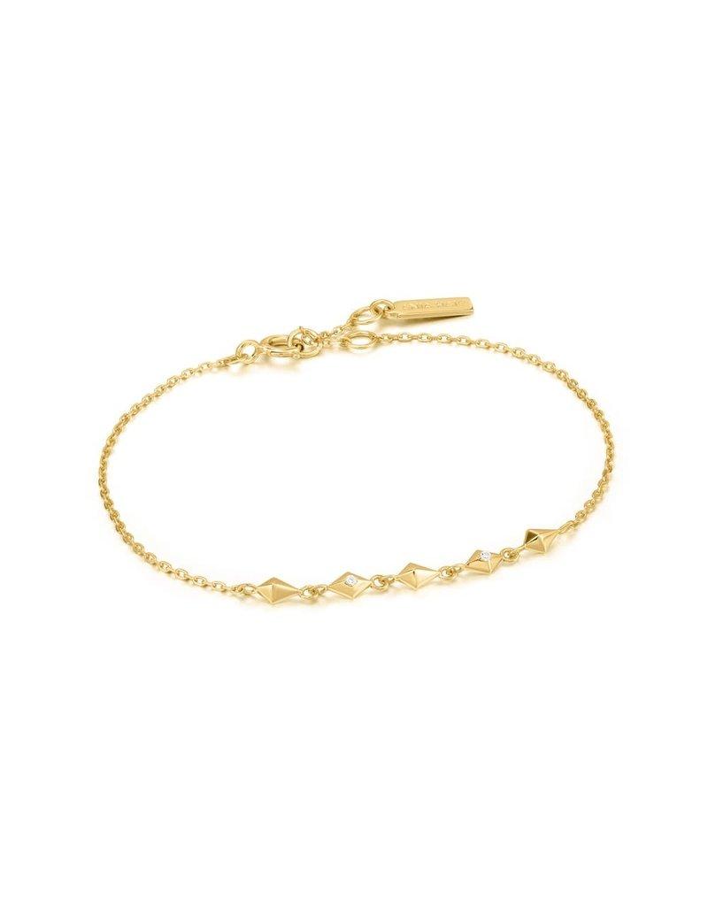 ANIA HAIE JEWELRY AH B025-01G Armband Gold spike