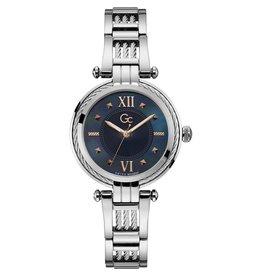 GC GC Y56001L7MF horloge dames staal mother of pearl