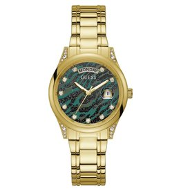Guess Guess GW0047L3 horloge dames staal gold
