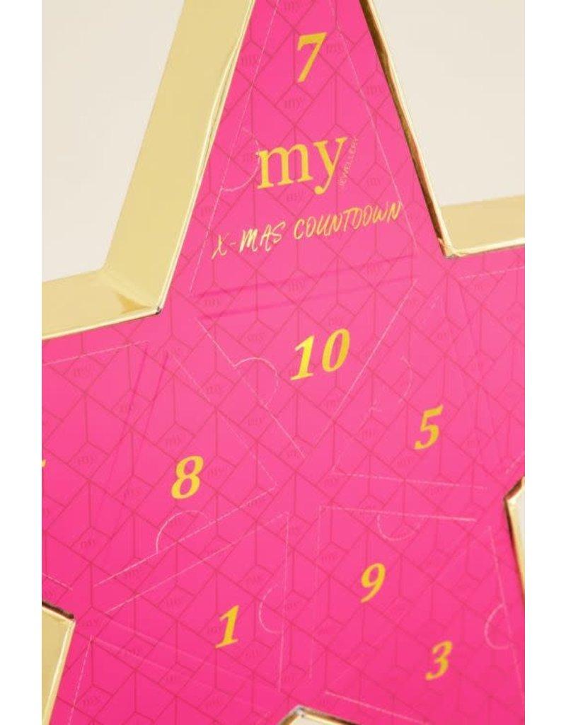 My Jewellery My Jewellery MJ03959 GOUD Advent gift kalender 2020