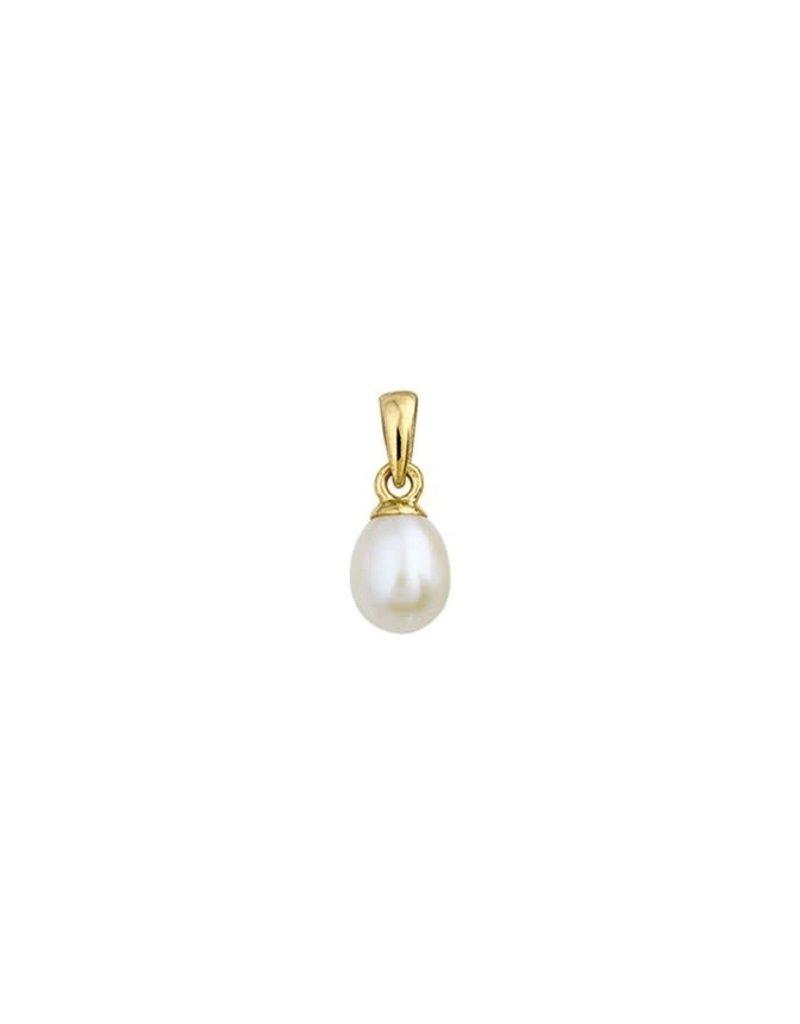 Huiscollectie - Goud 40.18472 Hanger 14 Krt goud met parel