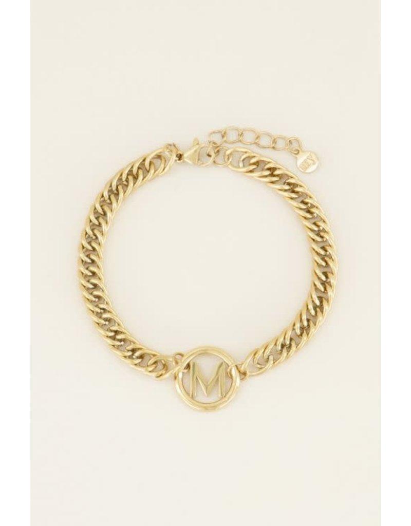 My Jewellery MJ037061200M Armband chunky initials