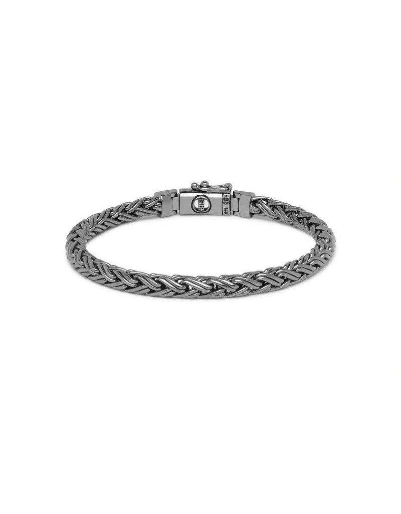 Buddha to Buddha J170BR SG D  Katja XS Bracelet Black Rhodium Shine Gold 14kt