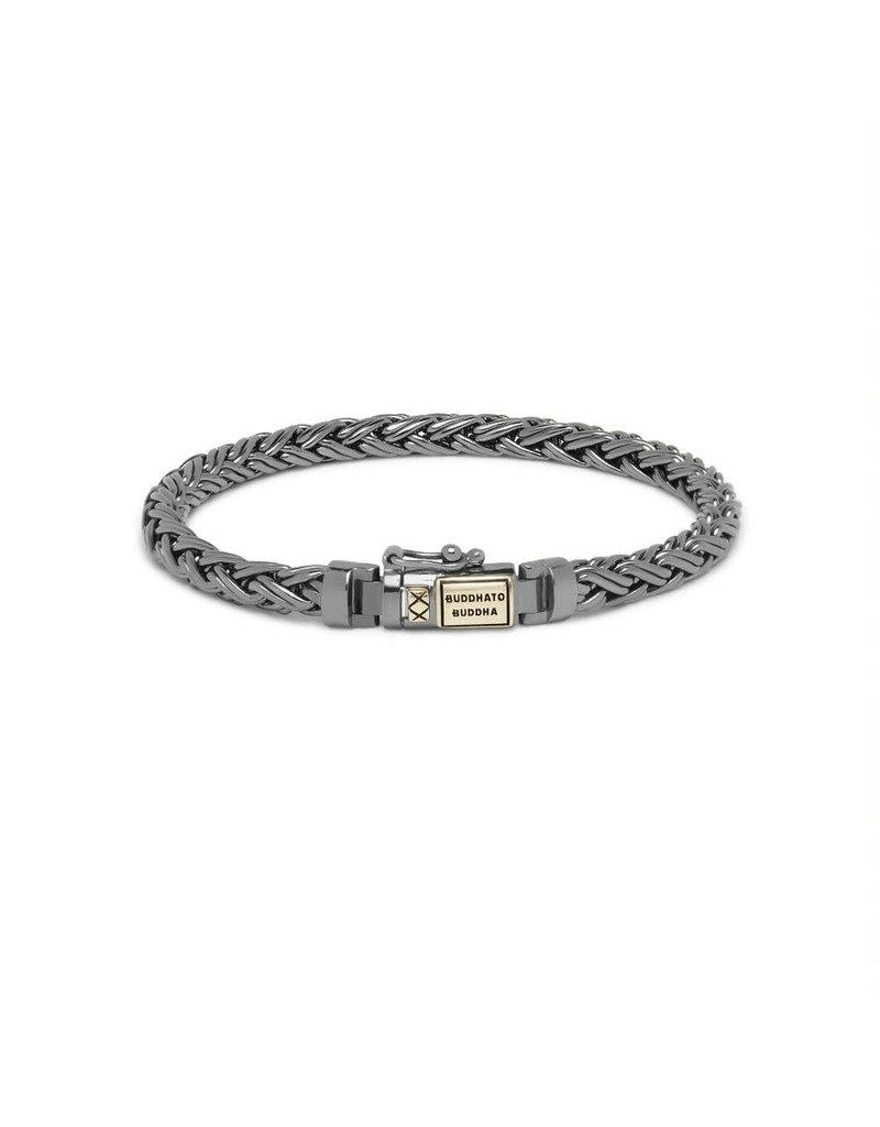 Buddha to Buddha J170BR SG E  Katja XS Bracelet Black Rhodium Shine Gold 14kt