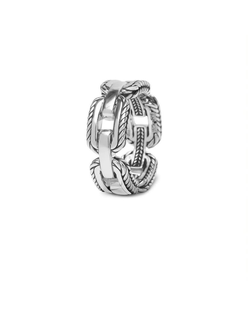 Buddha to Buddha 118 17  Barbara Link Ring Silver