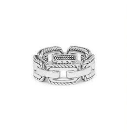 Buddha to Buddha 118 17,5  Barbara Link Ring Silver