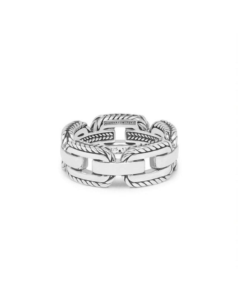 Buddha to Buddha 118 20  Barbara Link Ring Silver