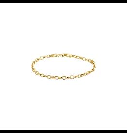 Huiscollectie - Goud 40.19494 Armband 14 Krt Goud
