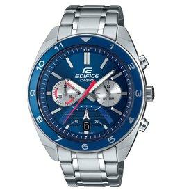 Edifice Edifice EFV-590D-2AVUEF Horloge heren chrono staal blauw